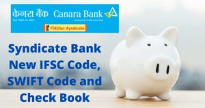 Syndicate Bank New IFSC Code online